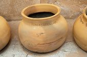 old, historic pots