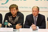 TOMSK, RUSSIA - JULY 1: Aleksander Emelianenko, three-time champion of the World Combat Sambo and Ma