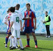 MOSCOW - MAY 10: Match the 10th round of the Russian Football Premier League between CSKA (Moscow) a