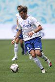 MOSCOW - JULY 3: Dynamo Moscow's midfielder Adrian Ropotan in the VTB Lev Yashin Cup: FC Dynamo Mosc