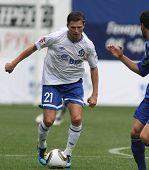 MOSCOW - JULY 3: Dinamo's midfielder Igor Semshov in the VTB Lev Yashin Cup: FC Dynamo Moscow vs. FC