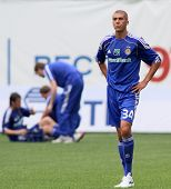 MOSCOW - JULY 3: Dynamo Kyiv's defender Evgeniy Hacheridi in the VTB Lev Yashin Cup: FC Dynamo Mosco