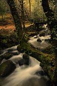 Cachoeira do Rio em Português Parque Nacional do Gerês, no norte do país