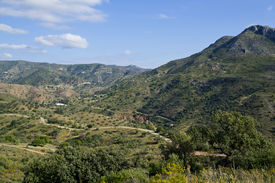 image of matinee  - malaga mountains situated on the slopes of the northern part of the city - JPG