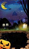 Night Halloween  Background