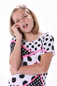 Young Girl Talking On Phone