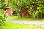 scandinavian barn