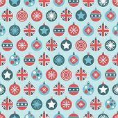 Uk Christmas Pattern