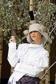 Model Beautiful Photokina 2008 White Hat