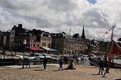 Vieux Bassin--Honfleur, France Harbor