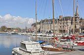 Honfleur, France---Harbor
