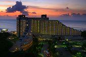 Guam Hotel At Sunset