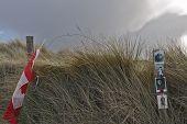 Memorial na praia de Juno