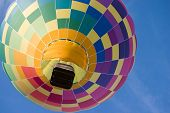 Rainbow Hot Air Balloon.