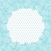 Lace and frills  hand drawn vector background