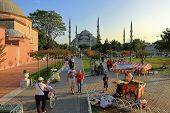 Sultanahmet Square on Ramadan