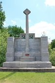 14th Light Division Memorial at Hill 60 near Ypres, Belgium