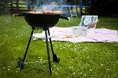 stock photo of grill  - Picnic - JPG