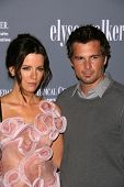 Kate Beckinsale and Len Wiseman  at the 4th Annual Pink Party. Santa Monica Airport, Santa Monica, C