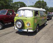 1968 Vw Hippie Camper Special Van
