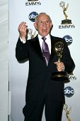 Tom Smothers  in the press room at the 60th Annual Primetime Emmy Awards. Nokia Theater, Los Angeles, CA. 09-21-08