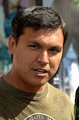 Adam Beach  at the World Premiere of