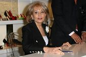 Barbara Walters  at an instore signing of her new book