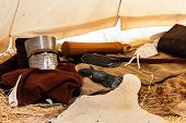 Inside A Crusader's Tent