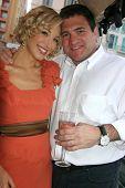 Alexandra Fulton and Robert Ricciardelli  at the Cedar Lane Yacht Party. Cedar Lane Yacht, Cannes, F