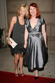 Arden Myrin and Kate Flannery  at the Summer Stars Party hosted by InTouch Weekly and ISH. Social Ho