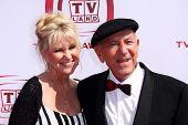 Peggy Crosby and Jack Klugman  at The 6th Annual 'TV Land Awards'. Barker Hangar, Santa Monica, CA. 06-08-08