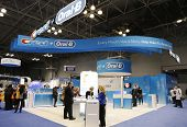 Crest Oral B booth at the Greater NY Dental Meeting in New York