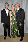 Charlie McDowell with Lilly McDowell and Malcolm McDowell  at the 35th Annual Vision Awards. Beverly Hilton Hotel, Beverly Hills, CA. 06-12-08