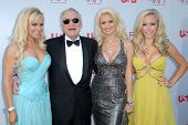 Bridget Marquardt and Hugh Hefner with Holly Madison and Kendra Wilkinson  at the 36th AFI Lifetime Achievement Award Tribute To Warren Beatty. Kodak Theatre, Hollywood, CA. 06-12-08