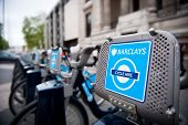 Barclays Cycle Hire docking station