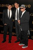 Joel Madden with Frederic de Narp and Benji Madden  at Cartier's 3rd Annual Loveday Celebration. Private Residence, Bel Air, CA. 06-18-08
