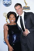 Sherri Shepherd and Cameron Mathison  in the press room at the 35th Annual Daytime Emmy Awards. Kodak Theatre, Hollywood, CA. 06-20-08