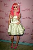 Audrey Kitching  at the Pink Plastic Party of the Year celebrating the launch of the Tarina Tarantin