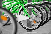 Rent A Green Bicycle