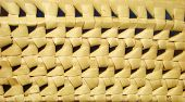 picture of scourge  - fragment wicker baskets of bread - JPG