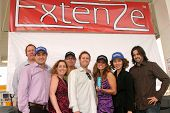 Bridgetta Tomarchio and the Executives from Extenze  at the