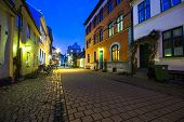 street in Malmo, Sweden