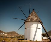 windmill in spain