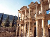 The grand library of Ephesus