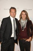 Matthew Perry and Tim Myers  at the 11th Annual Lili Claire Foundation Benefit Dinner and Concert Gala, Santa Monica Civic Center, Santa Monica, CA. 10-04-08