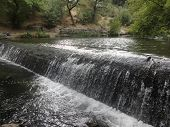 Waterfall on the river Arzni Armenia