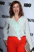 Christina Hendricks at the Outfest Closing Night Gala Screening of