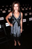 Olesya Rulin at day one of the 2007 Mercedes Benz Fashion Week. Smashbox Studios, Culver City, CA. 1