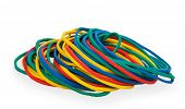 Multicolor Rubber Money Bands