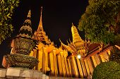 Wat Phra Kaew At Night, Temple Of The Emerald Buddha
